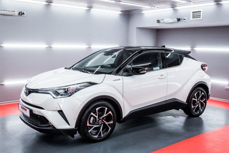 Toyota CHR – biała perła - Radom, Kielce