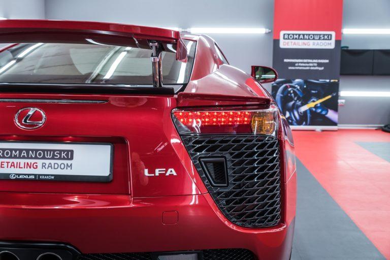 Lexus LFA 1 z 500 sztuk - Radom, Kielce