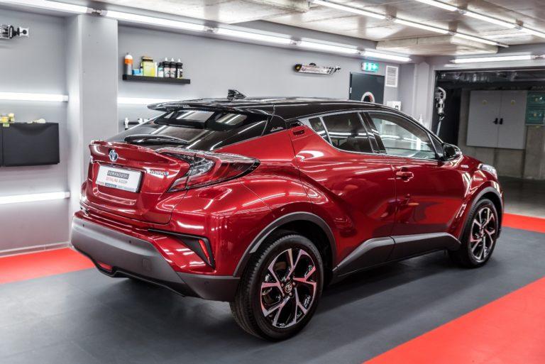 Toyota CHR Hybrid - czerwony metalik - Radom, Kielce