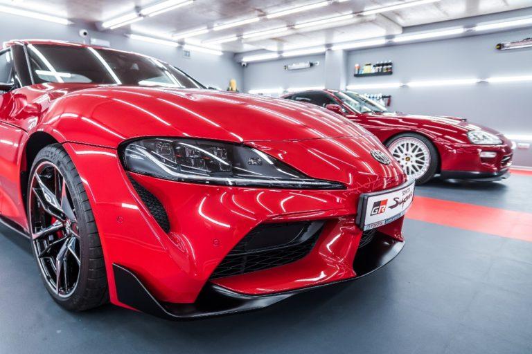 Toyota GR Supra & Supra MKIV - czerwone - Radom, Kielce