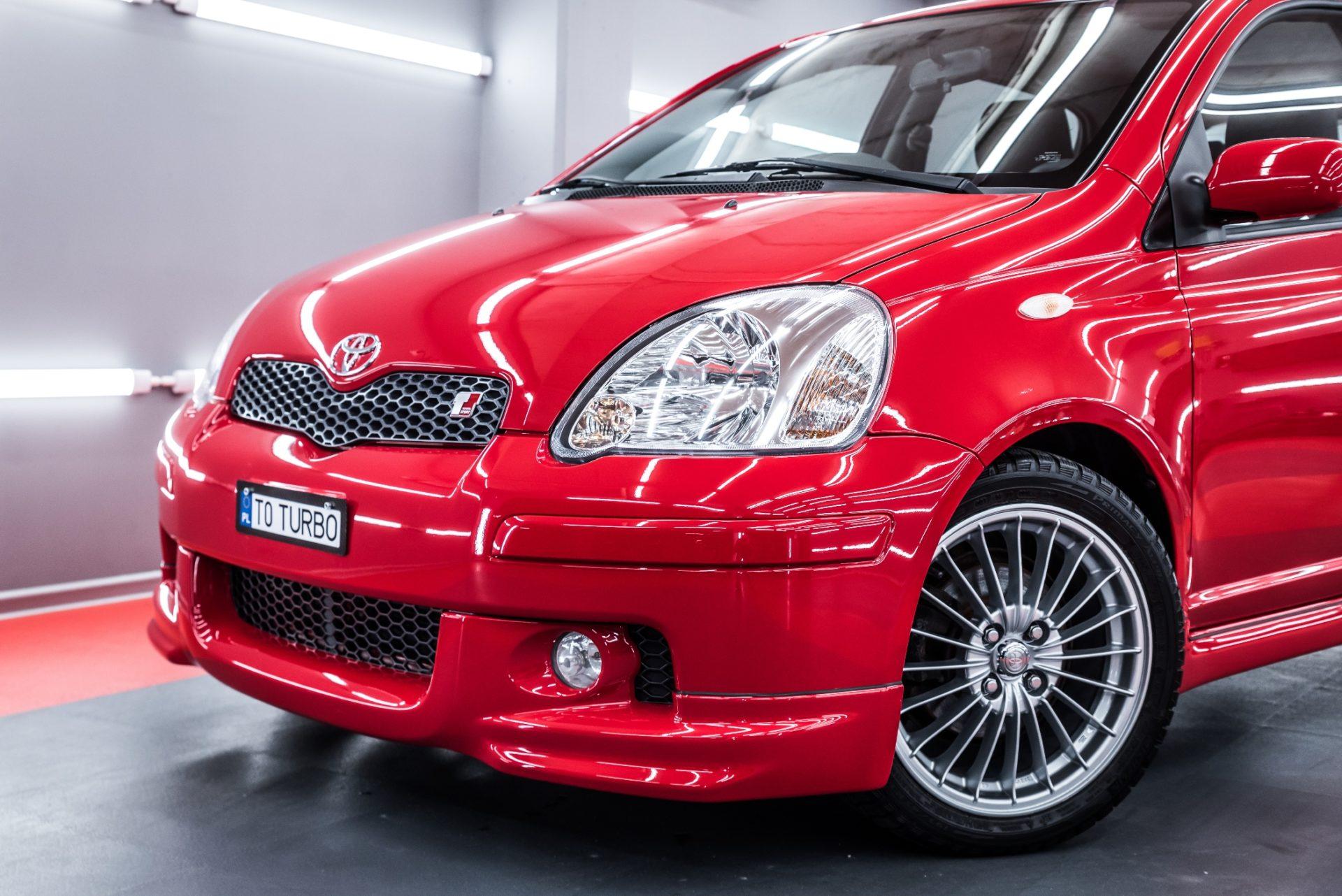 Toyota Yaris TS Turbo Limitowany 1 z 400 sztuk