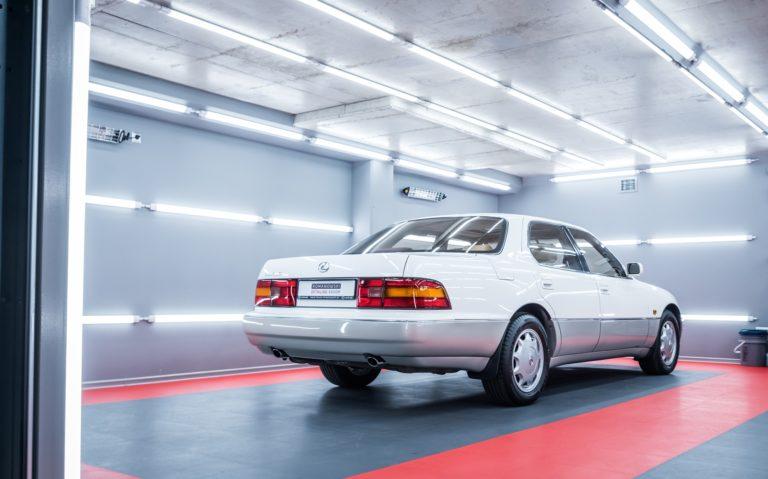 Lexus LS400 I gen. biała perła + beżowe wnętrze - Radom, Kielce