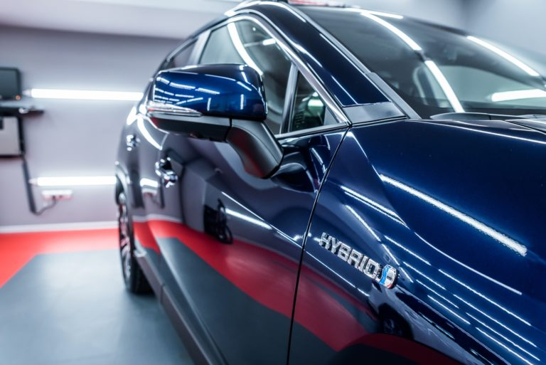 Toyota RAV4 Hybrid Executive granatowa - Radom, Kielce