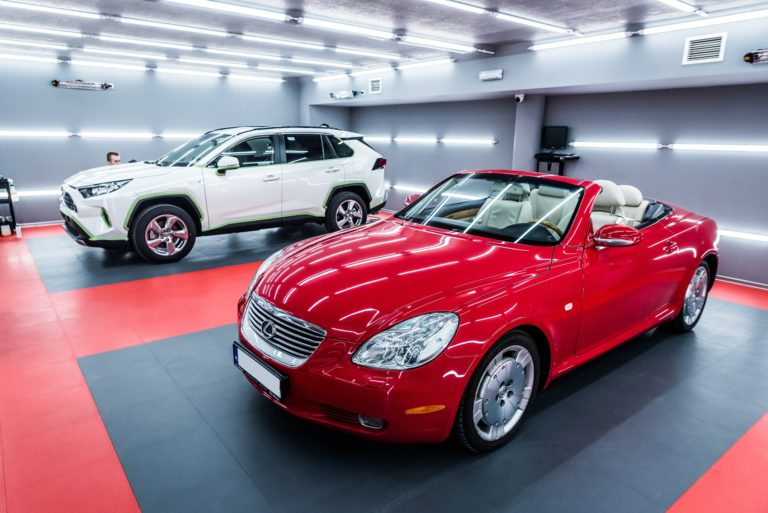 Lexus SC430 Hot Red :) - Radom, Kielce