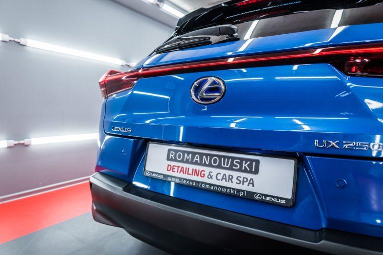 Lexus UX250h - niebieski - Radom, Kielce