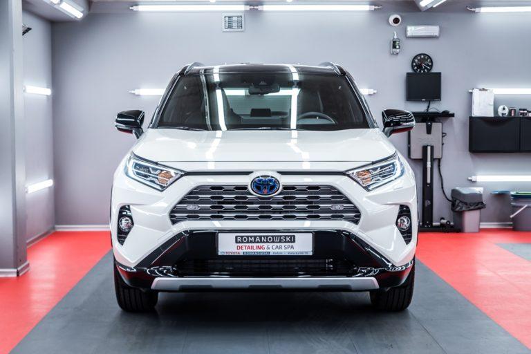Toyota RAV4 Hybrid - powłoka ceramiczna - Radom, Kielce