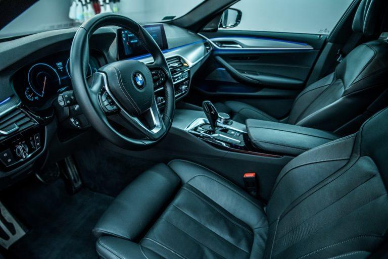 BMW 530i - zabezpieczenie powłoką ceramiczną - Radom, Kielce