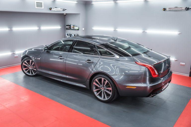 Jaguar XJ R-Sport - zabezpieczenie powłoką ceramiczną - Radom, Kielce