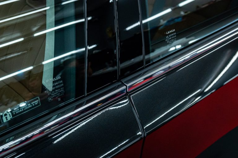 Lexus LS500h czarny - powłoka ceramiczna - Radom, Kielce