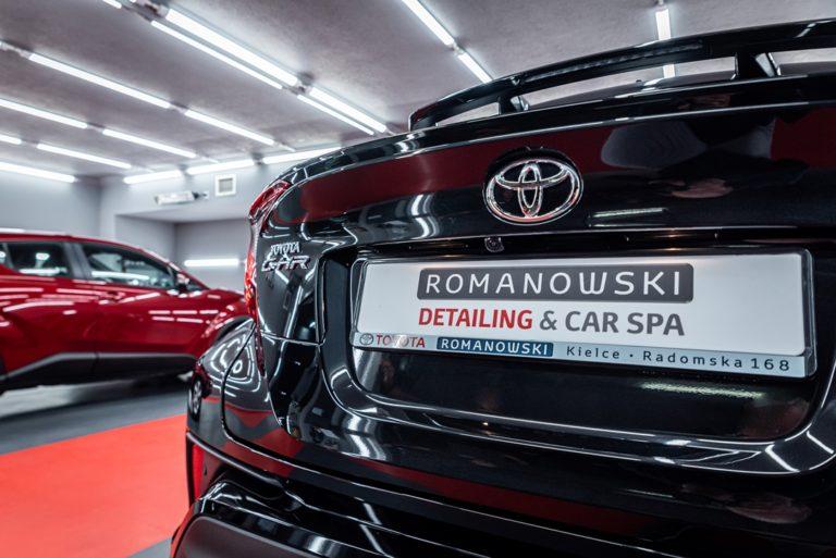 Toyota CHR - powłoka ceramiczna - Radom, Kielce