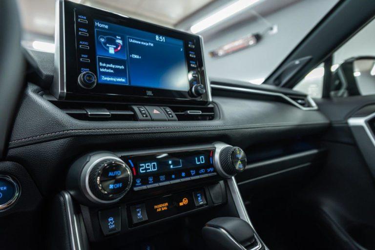 Toyota RAV4 Black Edition - powłoka ceramiczna - Radom, Kielce