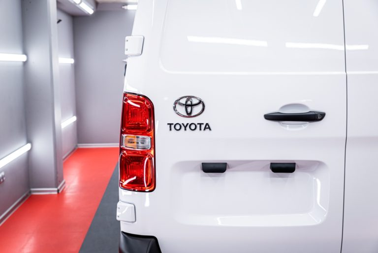 Toyota Proace - powłoka ceramiczna - Radom, Kielce
