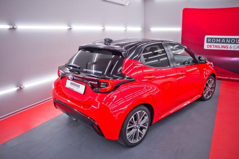 Toyota Yaris MY2021 czerwony - powłoka ceramiczna - Radom, Kielce