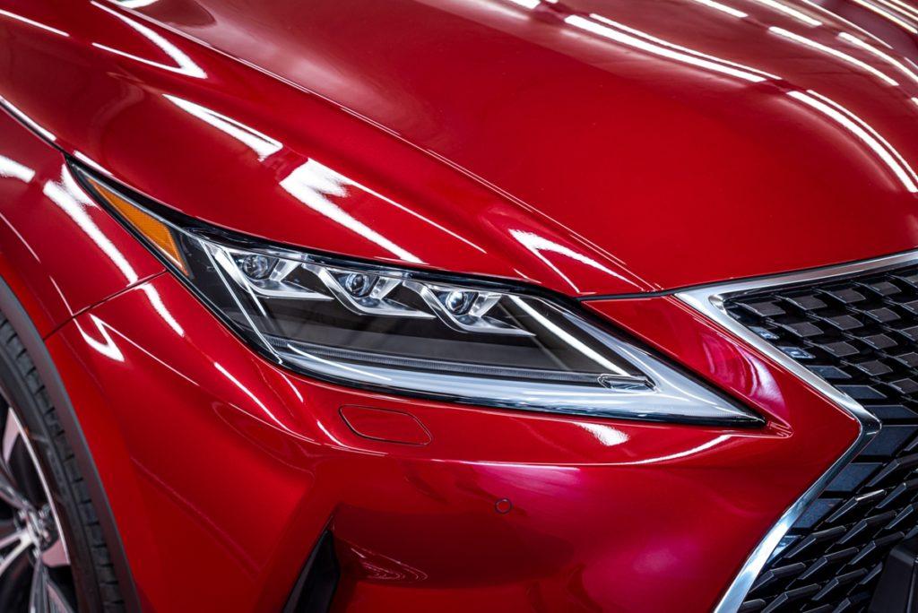 Lexus RX300 czerwony - powłoka ceramiczna - Radom, Kielce