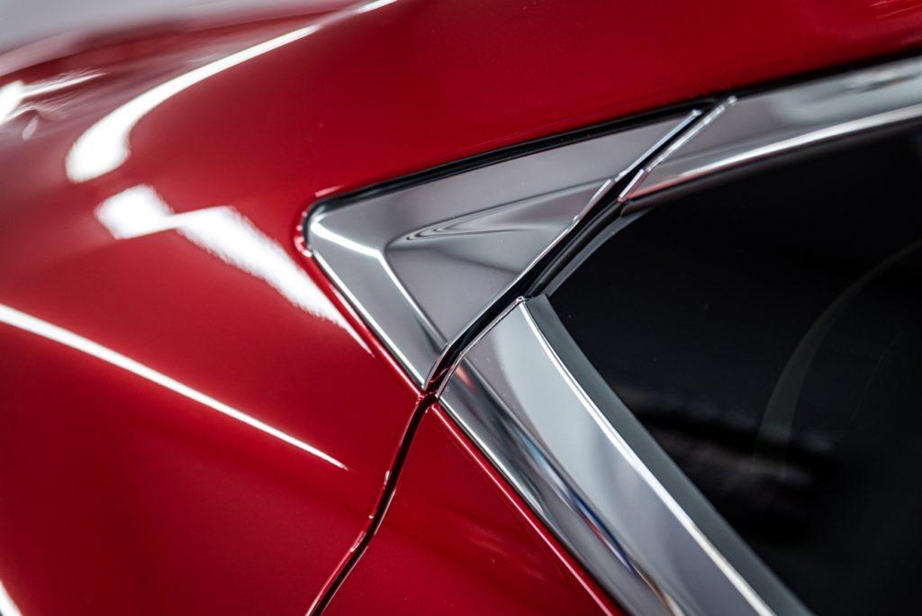 Lexus ES300h - czerwony - powłoka ceramiczna - Radom, Kielce