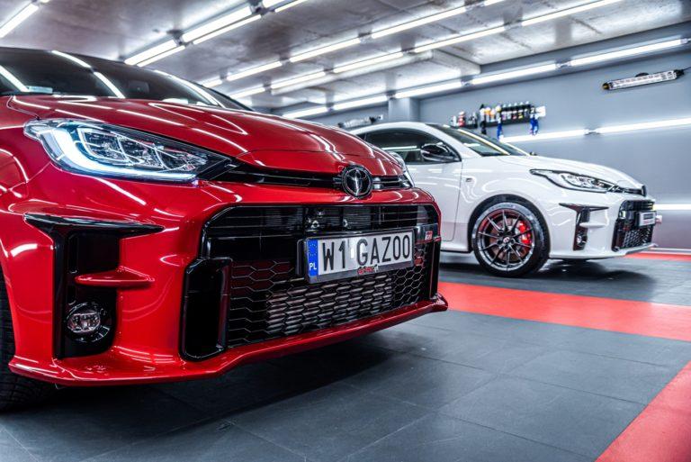 2 x Toyota GR Yaris  - mycie detailingowe - Radom, Kielce