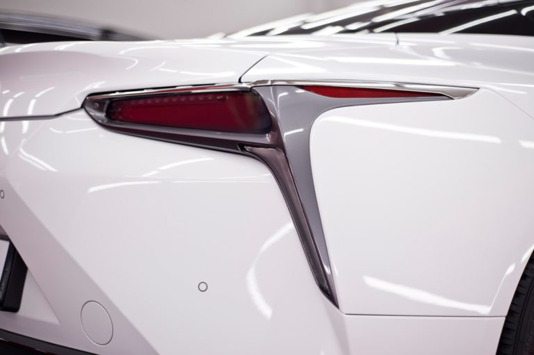 Lexus LC500 biała perła - powłoka ceramiczna - Radom, Kielce
