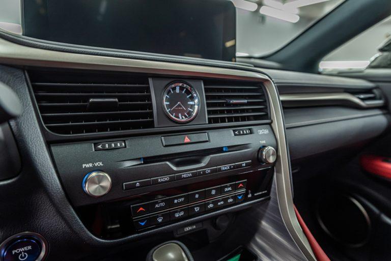 Lexus RX450h F-Sport biała perła - powłoka ceramiczna - Radom, Kielce