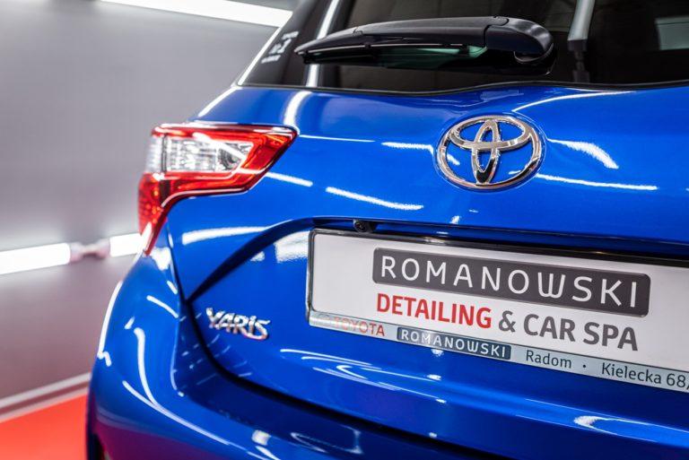 Toyota Yaris Classic - powłoka ceramiczna - Radom, Kielce