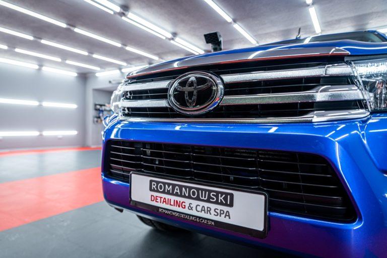 Toyota Hilux - powłoka ceramiczna - Radom, Kielce