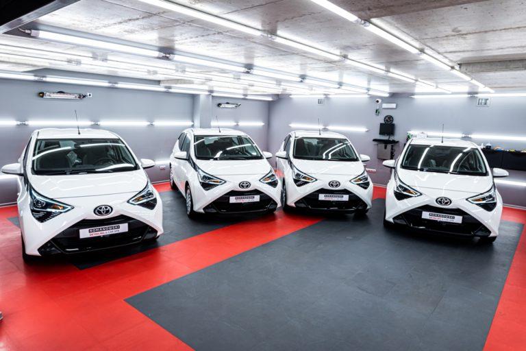 4 x Toyota AYGO - powłoki ceramiczne - Radom, Kielce