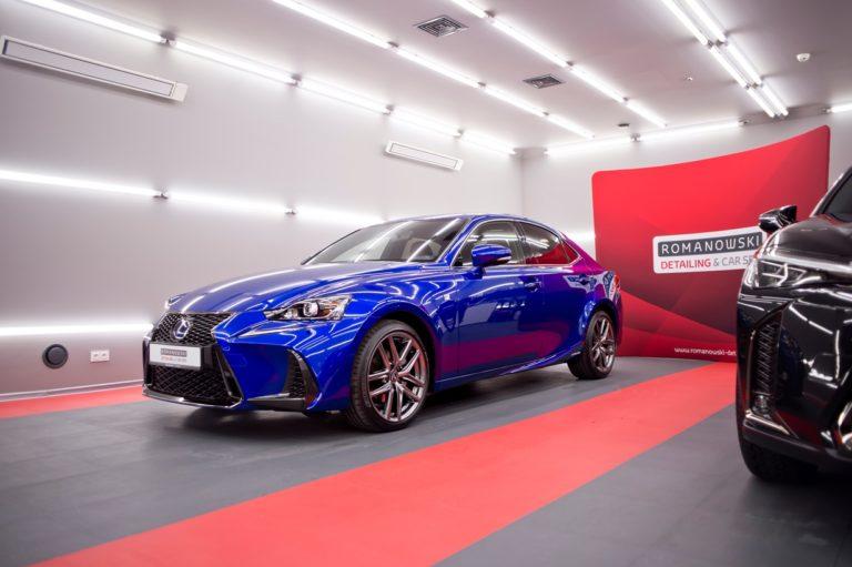 Lexus IS300h niebieski - powłoka ceramiczna - Radom, Kielce