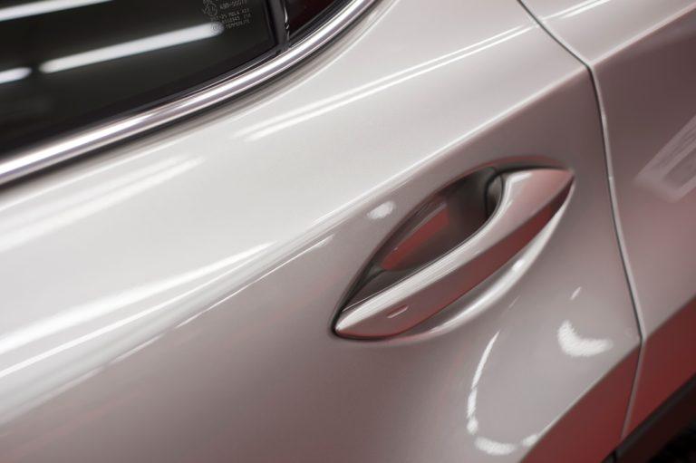 Lexus RX450h - srebrny - powłoka ceramiczna - Radom, Kielce