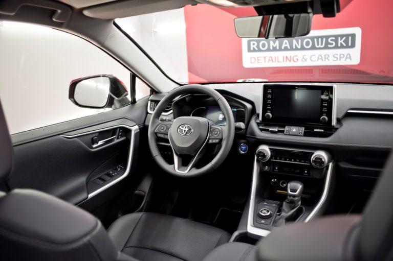 Toyota RAV4 czerwona - powłoka ceramiczna - Radom, Kielce