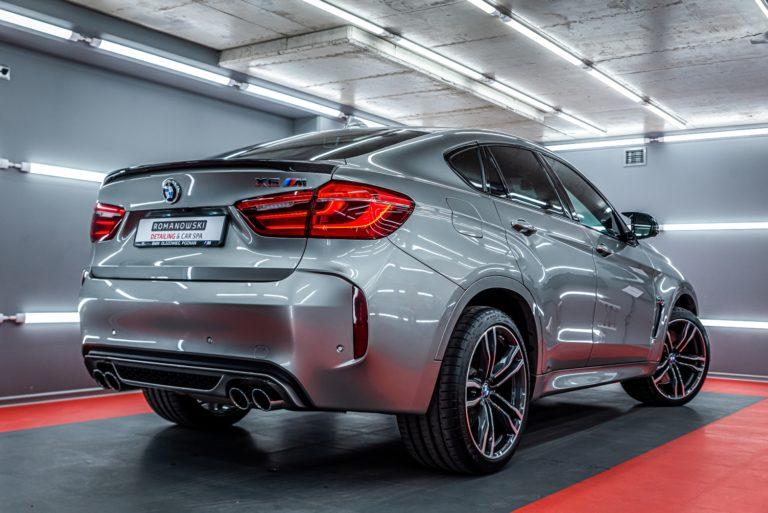 BMW X6M  - mycie detailingowe i detailing wnętrza - Radom, Kielce