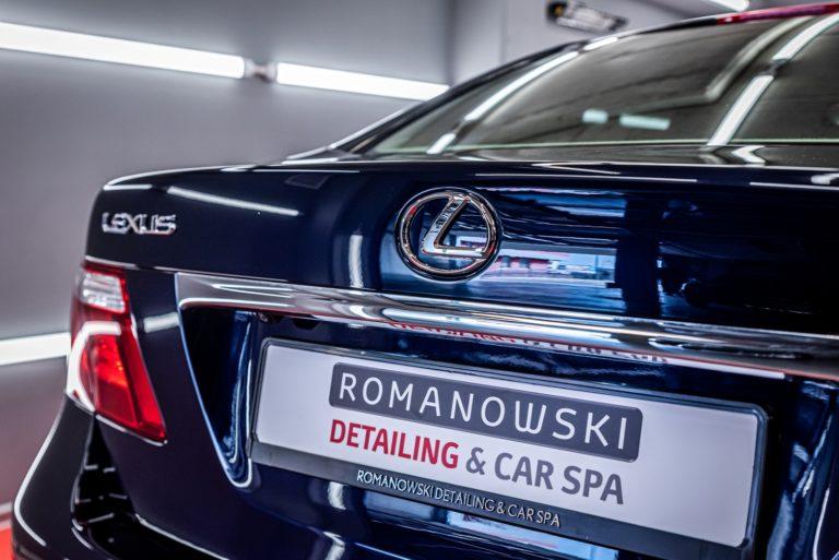 Lexus LS460 - kompleksowa renowacja + powłoka ceramiczna - Radom, Kielce