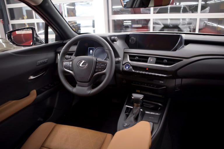 Lexus UX250h - powłoka ceramiczna - Radom, Kielce