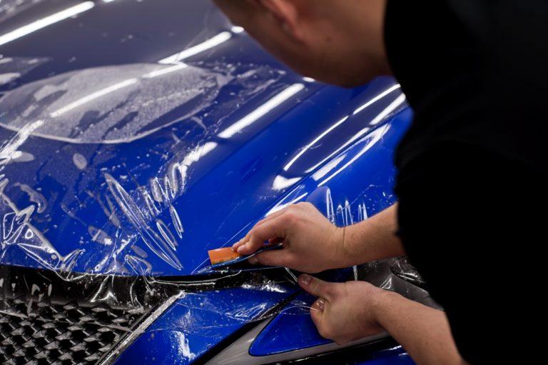 Lexus LC500 - folia ochronna PPF - Radom, Kielce