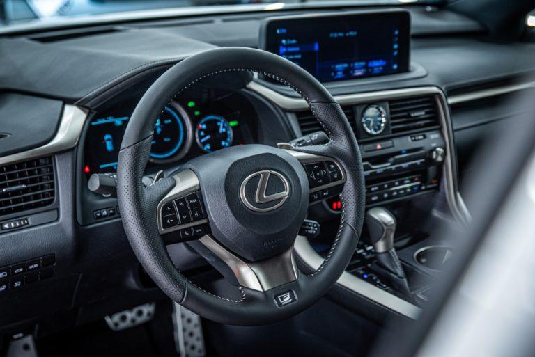 Lexus RX450h F-Sport - mycie detailingowe - Radom, Kielce