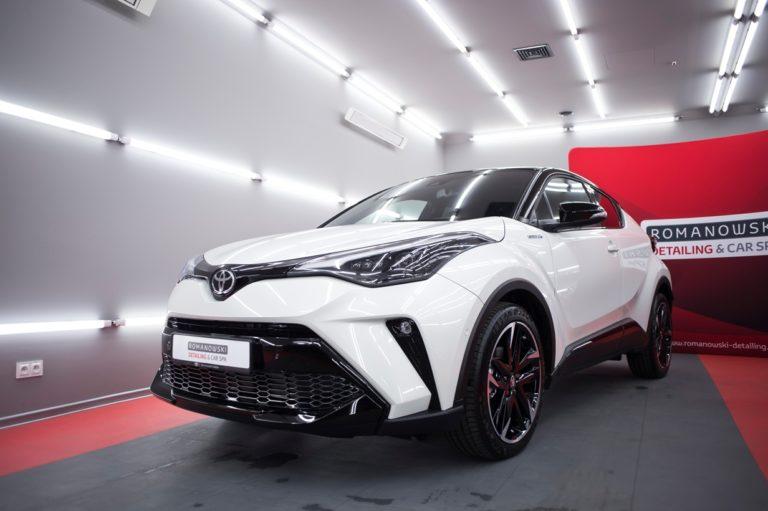 Toyota CHR Hybrid GR Sport - powłoka ceramiczna - Radom, Kielce