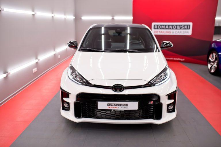 Toyota GR Yaris - biały - folia ochronna PPF Full Body - Radom, Kielce