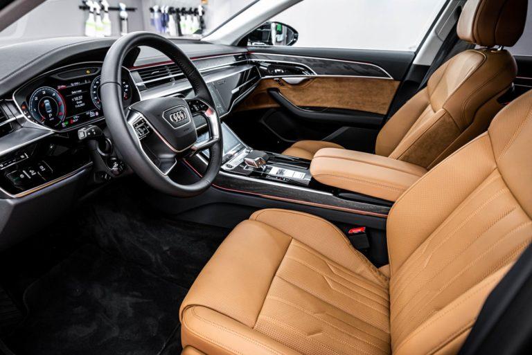 Audi A8 - powłoka ceramiczna - Radom, Kielce