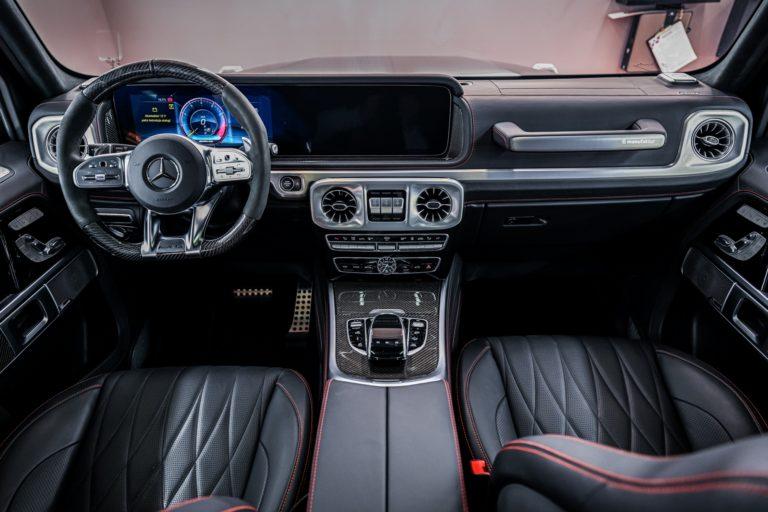 Mercedes G63AMG - powłoka ceramiczna & folia ochronna PPF - Radom, Kielce