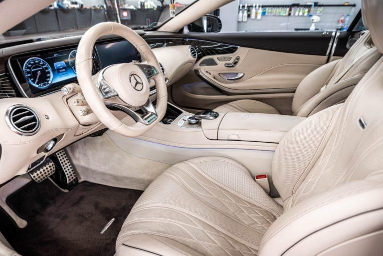 Mercedes S63AMG Coupe - powłoka ceramiczna - Radom, Kielce