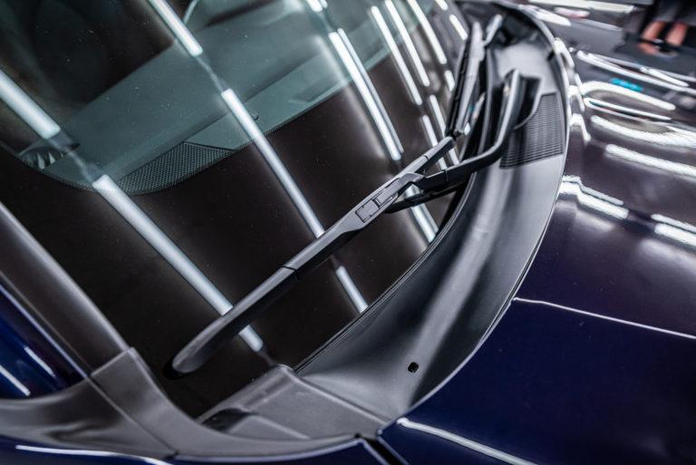 Toyota Highlander Hybrid granatowa - powłoka ceramiczna - Radom, Kielce